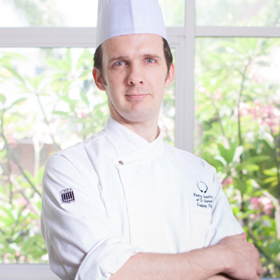 Pastry school in Malaysia, taught by French Chef Frederic Oger
